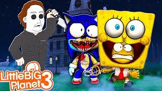 Spongebob & Sonic *Trick or Treat* | LittleBigPlanet 3