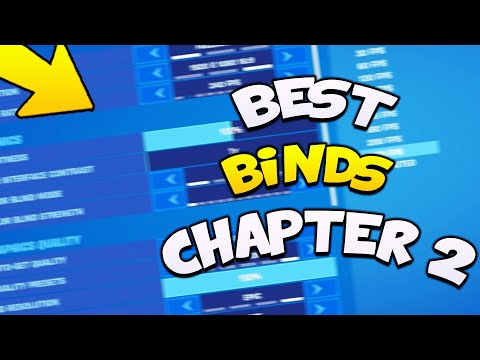 Best Fortnite KEYBINDS For FORTNITE Chapter 2 Season 2 👾(Pro Player Keybinds!)