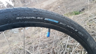 Schwalbe Big Apple. Краткий обзор велопокрышек.