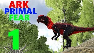 [1] Taming An Apex Dilo! (Ark Primal Fear Modpack)