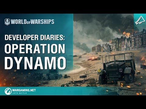 World of Warships - Developer Diaries: Operation Dynamo