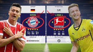 ARE BAYERN MUNICH BETTER THAN THE REST OF THE BUNDESLIGA? - FIFA 18 EXPERIMENT