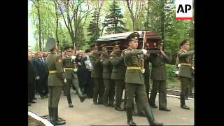 Download Mp3 Funeral Of Alexander Lebed At Elite Novodevichy Cemetery