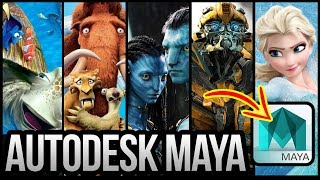 Popular Movies made using Autodesk Maya