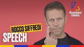 Pornstar et père de famille | Le Speech de Rocco Siffredi