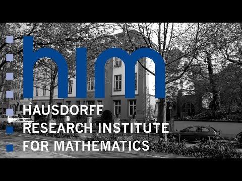 Karlheinz Gröchenig: Gabor Analysis And Its Mysteries (Lecture 1)