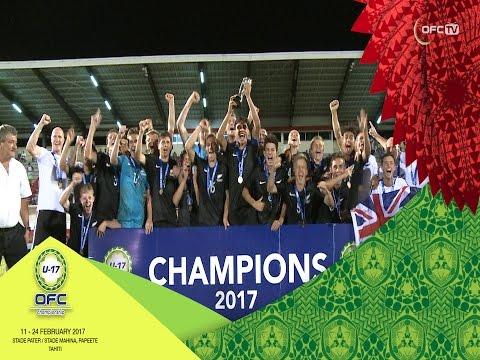 2017 OFC U-17 CHAMPIONSHIP | FINAL New Caledonia v New Zealand Highlights