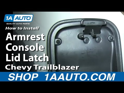 Gm Console Latch Replacement By Theseatshop