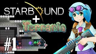 TERRARIA & STARBOUND TOGETHER! Starraria Adventure Map! | PC 1.3 Maps | Part 1
