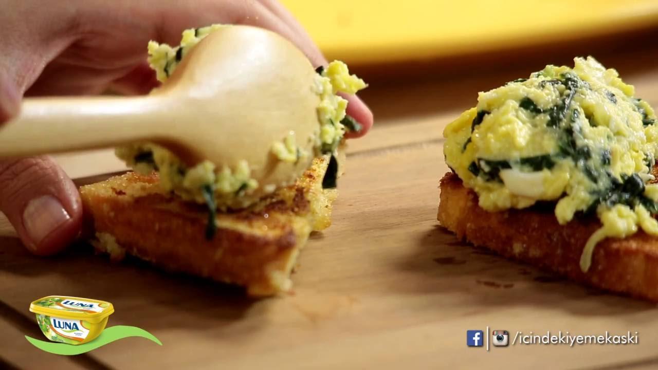 Peynirli ve ıspanaklı omlet tarifi