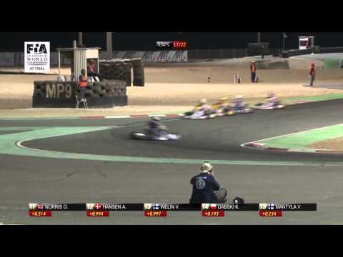 CIK FIA KF WORLD CHAMPIONSHIP ROUND 2 FINAL ENGLISH