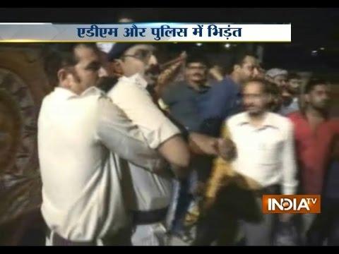 VIDEO: Clash Reported Between ADM and Police at Mahakal Mandir in Ujjain - India TV