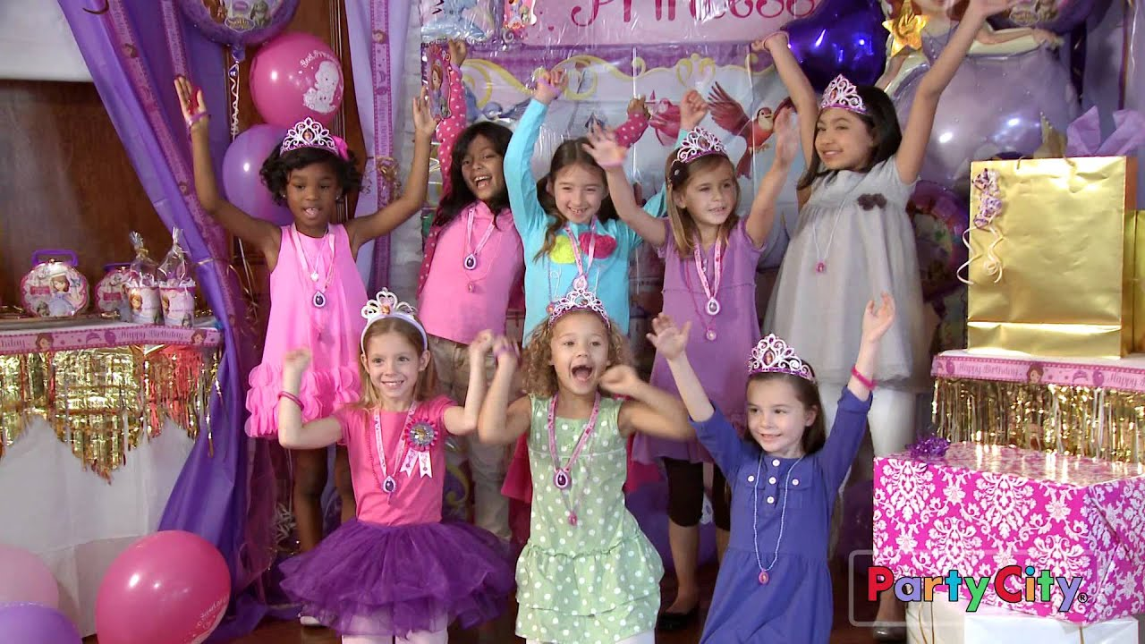 host a magical sofia the first party for your princess