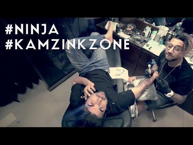 Ninja Tattoo | Kamz Inkzone baby ( Teaser ) I M INKED 2017