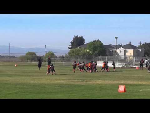 Masai 2nd touchdown vs Huron