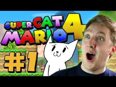 Cat Mario 4: Twerking Dinosuar Butt? - Part 1