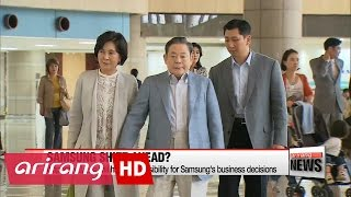Samsung heir awaits board nomination decision
