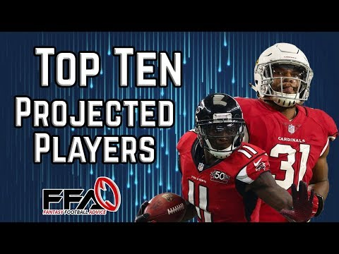 Top 10 Projected Players - 2019 Fantasy Football