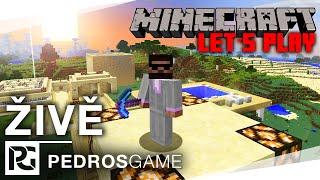 PG | Minecraft Let´s Play - Práce na skladišti a pokec (záznam z LS)