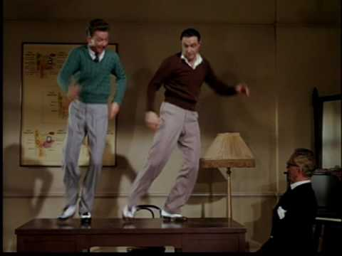 "Gene Kelly and Donald O'Connor, ""Moses Supposes"""