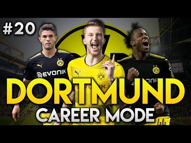 FIFA 18   Dortmund Career Mode   Ep20   £40M PULISIC BID!