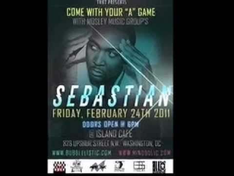 "Mosley Music Group's ""SEBASTIAN"" will be in DC ~Feb 24th!!"