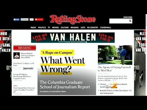 Rolling Stone Magazine Apologizes, Retracts Rape Story After Columbia University Report