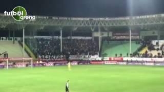 Alanyaspor maçında Beşiktaş taraftarından laiklik sloganları