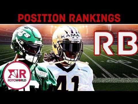 Fantasy Football 2019: Top 20 Running Back Rankings | NFL | NBC Sports