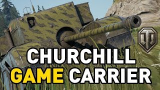 World of Tanks || CHURCHILL GAME CARRIER