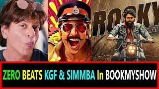 ZERO Beats KGF And SIMMBA In Popularity At Book My SHOW