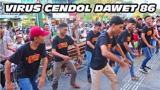Download lagu KOMPAK JOGET GEDRUK VIRUS CENDOL DAWET 86 PAMER BOJO Angklung Malioboro Jogja MP3