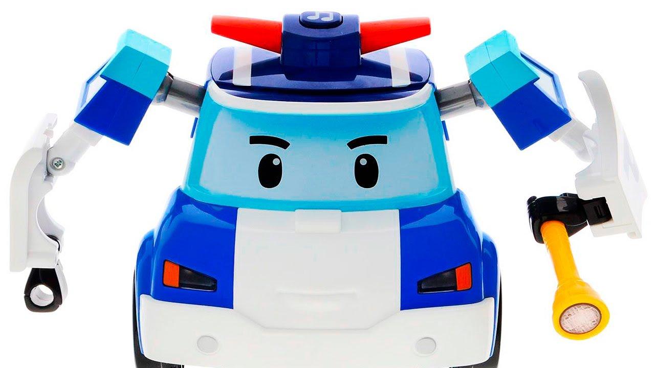 Про игрушки про поли робокар все серии подряд