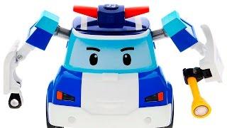 Робокар Поли Машинки для детей - Мультики про машинки с игрушками Поли Робокар. Все серии подряд