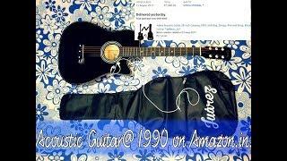 Juârez Acoustic Guitar@ 1990 on Amazon.in Unboxing & Review