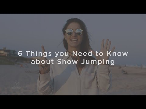 6 things you need to know about Show Jumping, presented by Noelle Floyd