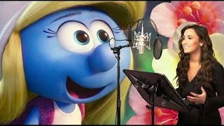 Behind The Scenes On SMURFS 3 THE LOST VILLAGE - Voice Cast B-Roll & Bloopers