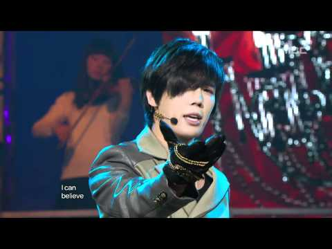 Park Jung Min - Not Alone, 박정민 - 낫 얼론, Music Core 20110129