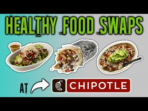 Healthiest Foods At Chipotle And The Worst (HEALTHY FAST FOOD SWAPS) | LiveLeanTV