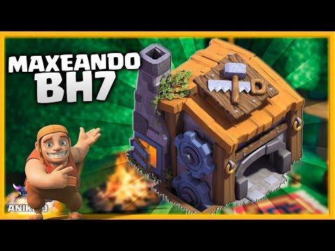 MAXEANDO BH 7 ¿ QUE HACER PRIMERO? - NUEVA SERIE en CLASH OF CLANS ALDEA NOCTURNA