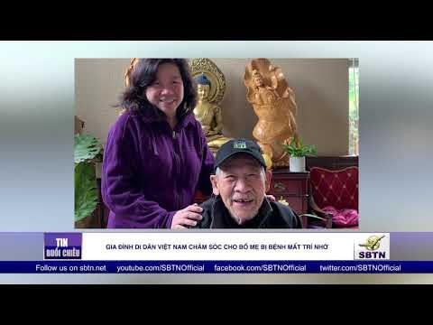 Gia đình di dân Việt Nam chăm sóc cho bố mẹ bị bệnh mất trí nhớ