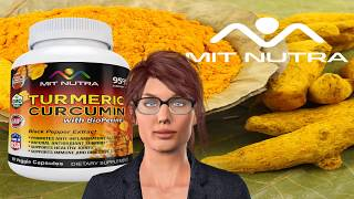 Buy The Best TURMERIC by MIT NUTRA online - Real Turmeric Curcumin in Capsules - CHEAPEST price!