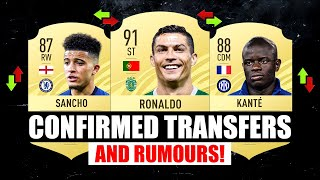 FIFA 22 | CONFIRMED TRANSFERS & RUMOURS! #13 | ft. Ronaldo, Sancho, Kante... etc