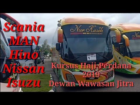 Scania, MAN, Hino, Nissan, Isuzu, Dalam Kursus Haji Perdana 2019, Dewan Wawasan Jitra