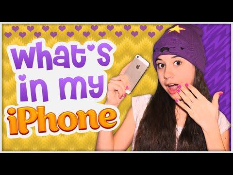 What's In My Iphone||Что на моём Iphone 5S ♡♡♡