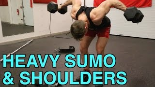 Cheat & Recover | Heavy Sumo Deadlifts & Shoulders