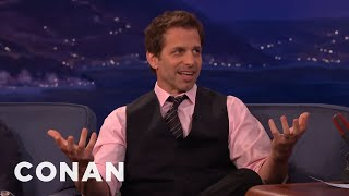 Zack Snyder On His New Batmobile  - CONAN on TBS
