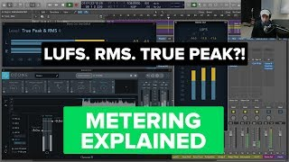 Levels and Loudness Metering (RMS, LUFS and True Peak)