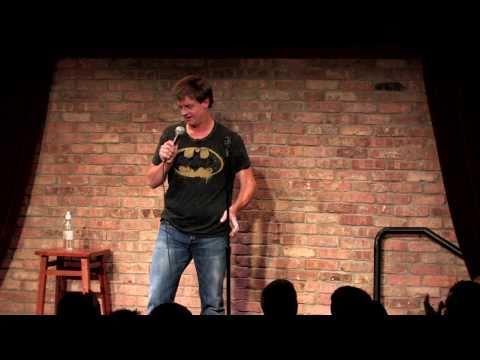 Jim Breuer handles loud audience members