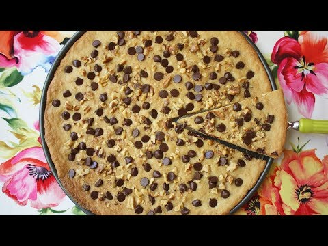 Chocolate Chip Pizza Recipe Chocolate Chip Pizza